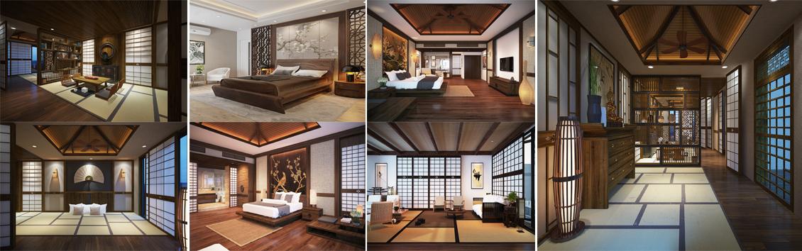 Kiến trúc nội thất nhà kiểu Nhật bản