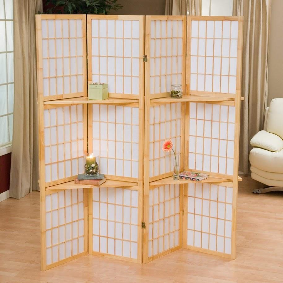 Bình phong shoji kiểu Nhật