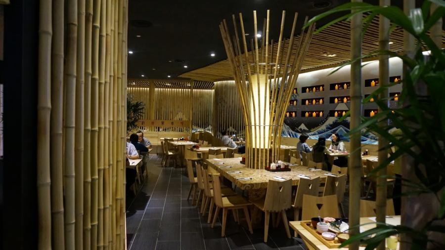 Nội thất của nhà kiểu Nhật chủ yếu được làm từ gỗ và tre