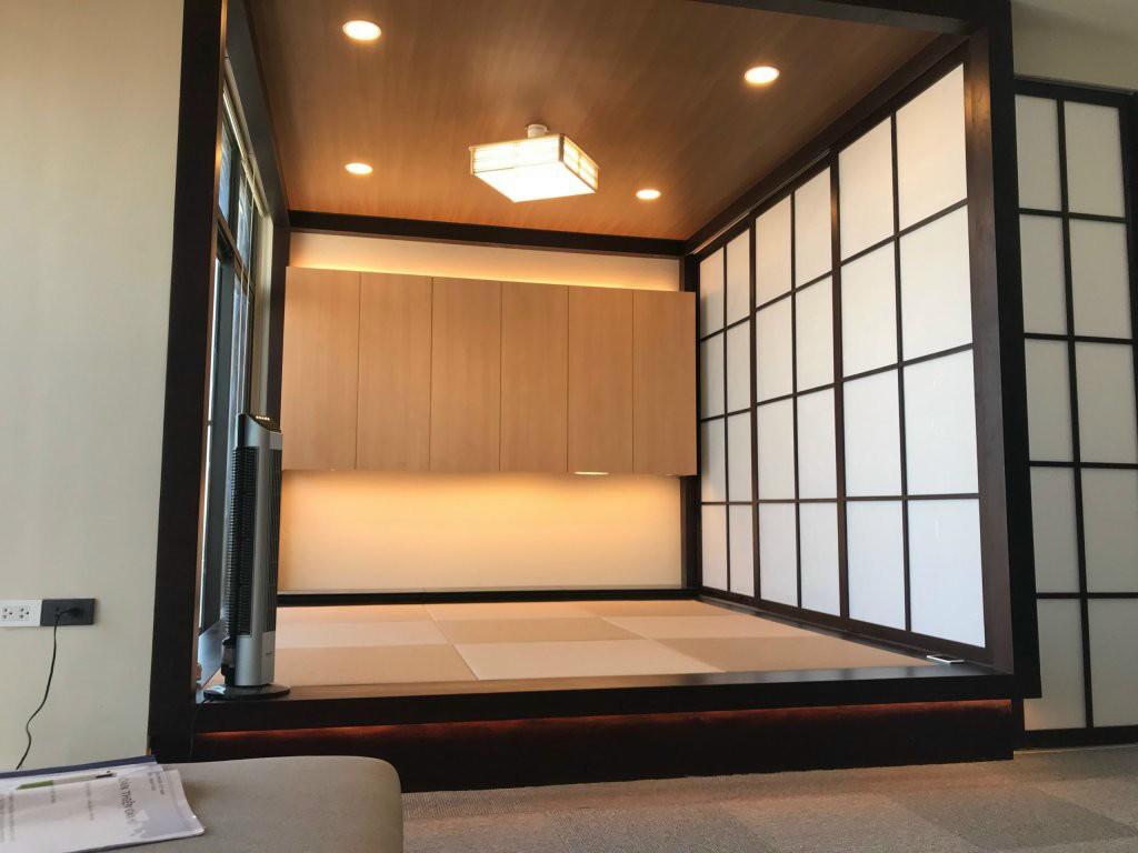 Cửa lùa đẹp cho không gian thiền