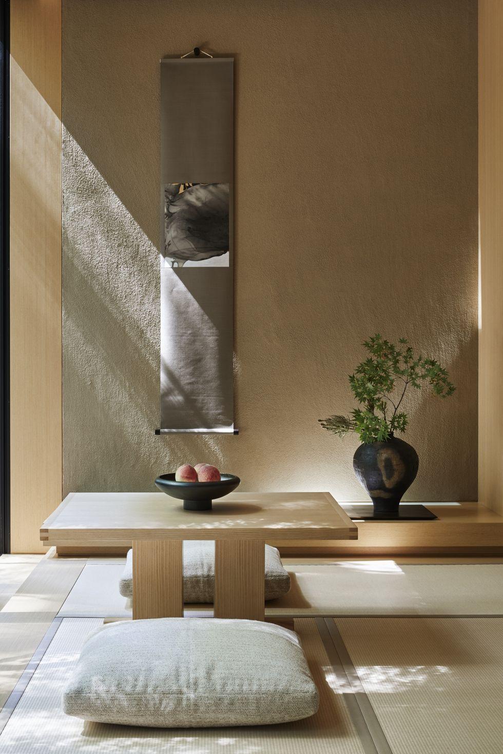 Phòng chiếu tatami Nhật Bản