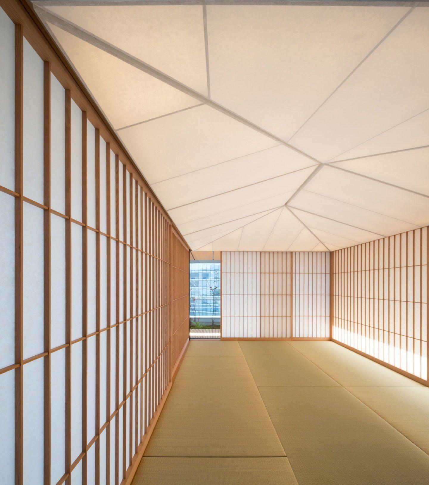 Phòng chiếu tatami truyền thống Nhật