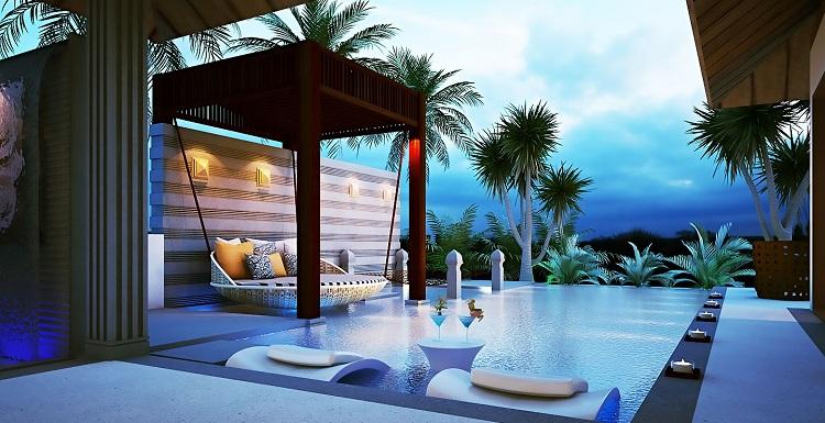 thiết kế cảnh quan khu resort