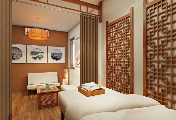 Thiết kế nội thất spa phong cách Nhật Bản luôn tinh tế, khác biệt