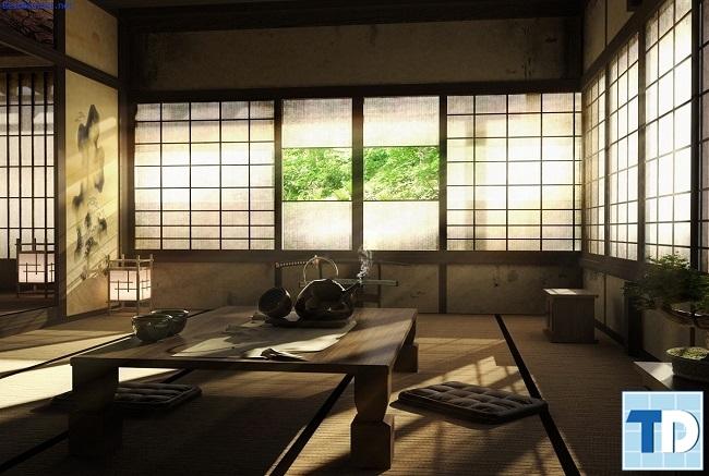 thiết kế nhà truyền thống Nhật Bản