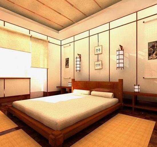 Thiết kế sàn phòng ngủ kết hợp chiếu takumi