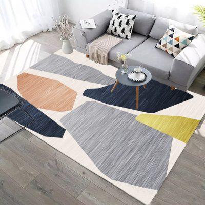 thảm trải sàn có màu sắc phù hợp với không gian nội thất