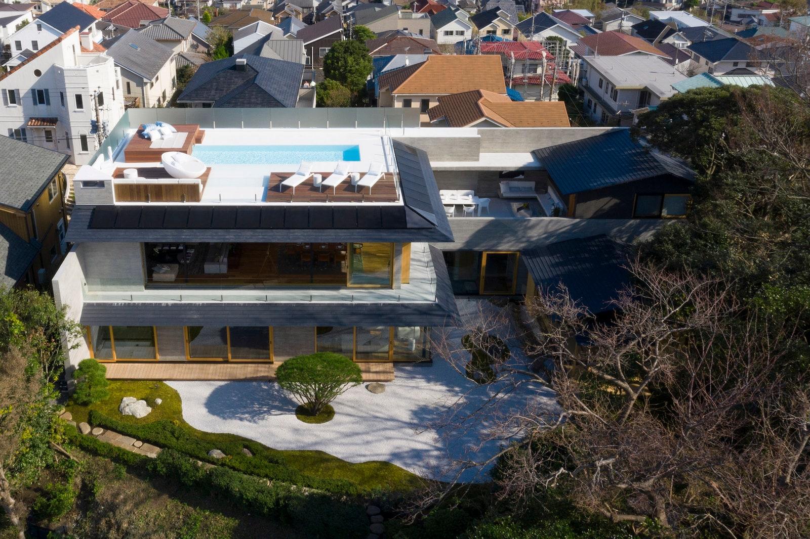 Sự kết hợp hoàn hảo giữa kiến trúc Nhật Bản truyền thống và hiện đại