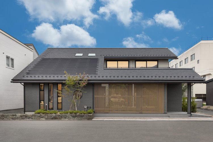 Biệt thự mái Nhật đẹp hút hồn
