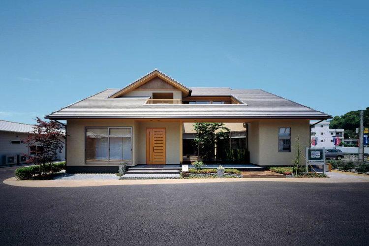 Biệt thự mái Nhật mới lạ