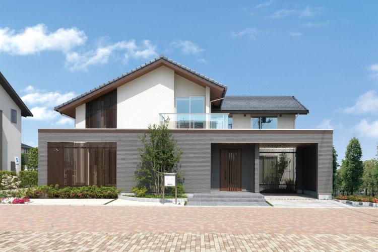 Thiết kế biệt thự mái Nhật độc đáo