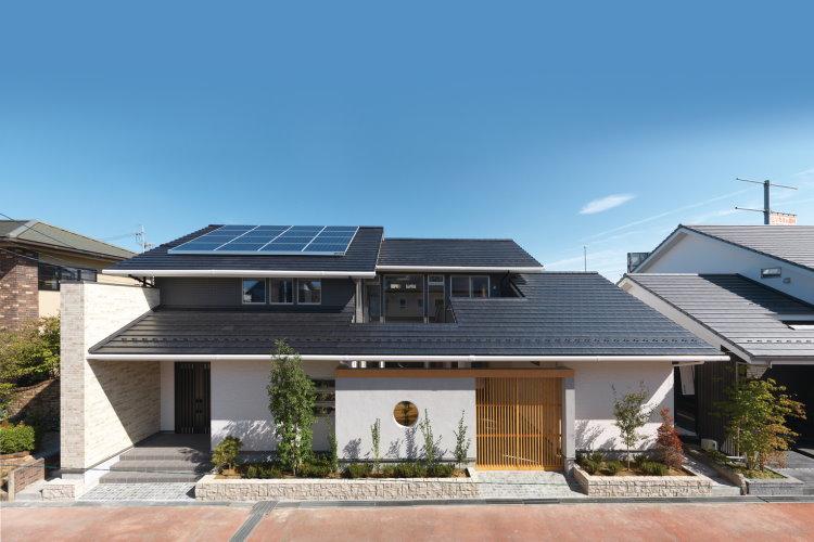 Biệt thự mái Nhật kiểu dáng mới lạ