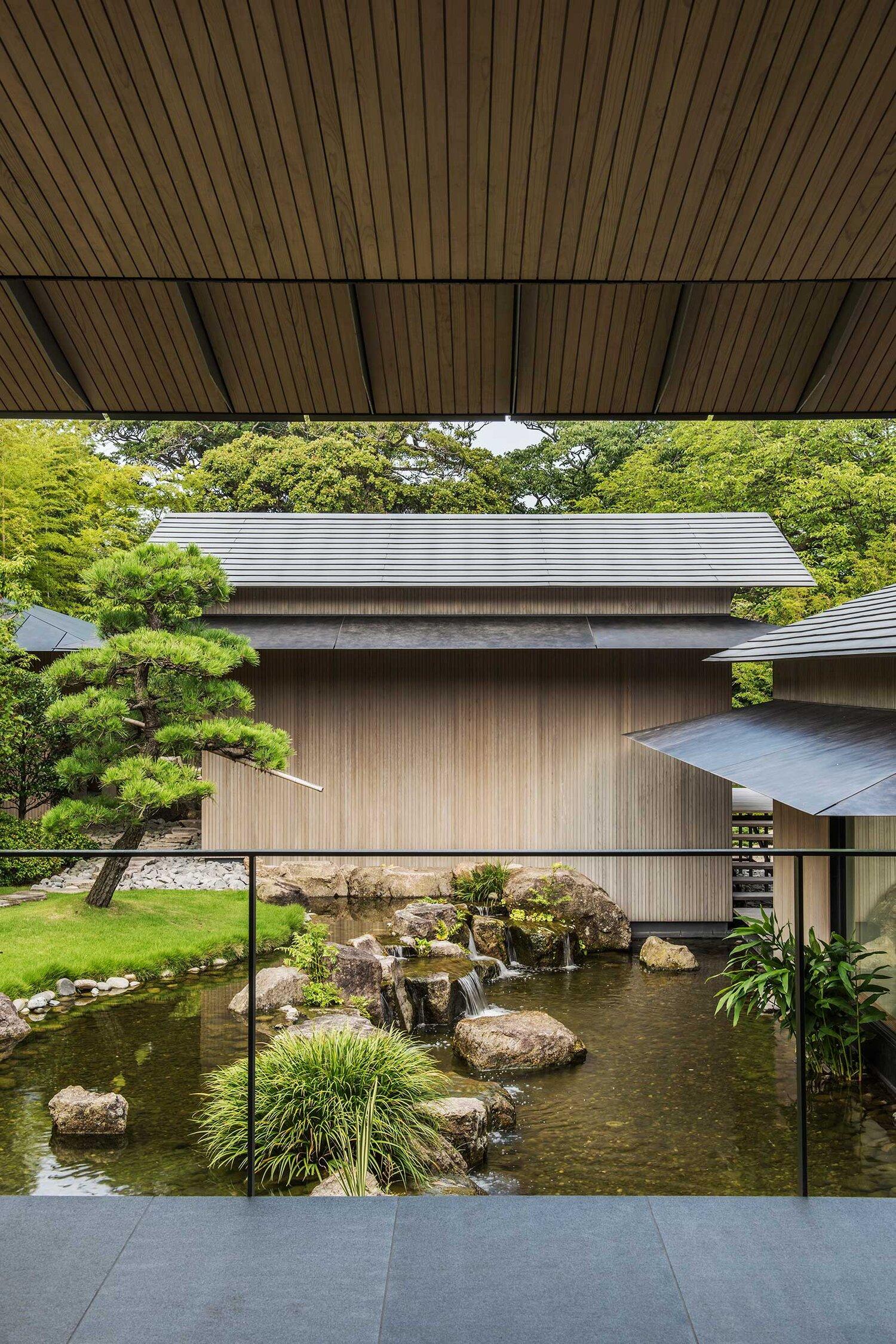Biệt thự Nhật gần gũi thiên nhiên