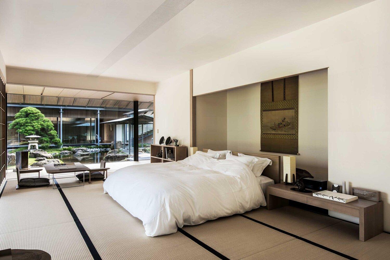 Mới lạ với phòng ngủ biệt thự Nhật