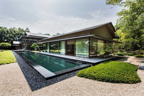 Biệt thự Nhật cùng bể bơi