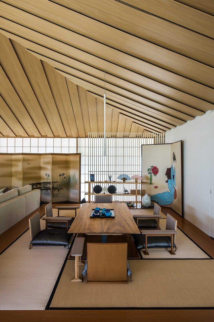 Phòng trà biệt thự Nhật