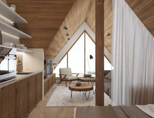 Không gian nhỏ trong thiết kế Nhật Bản