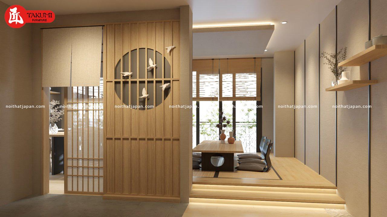 Mô hình nhà hàng kiểu Nhật