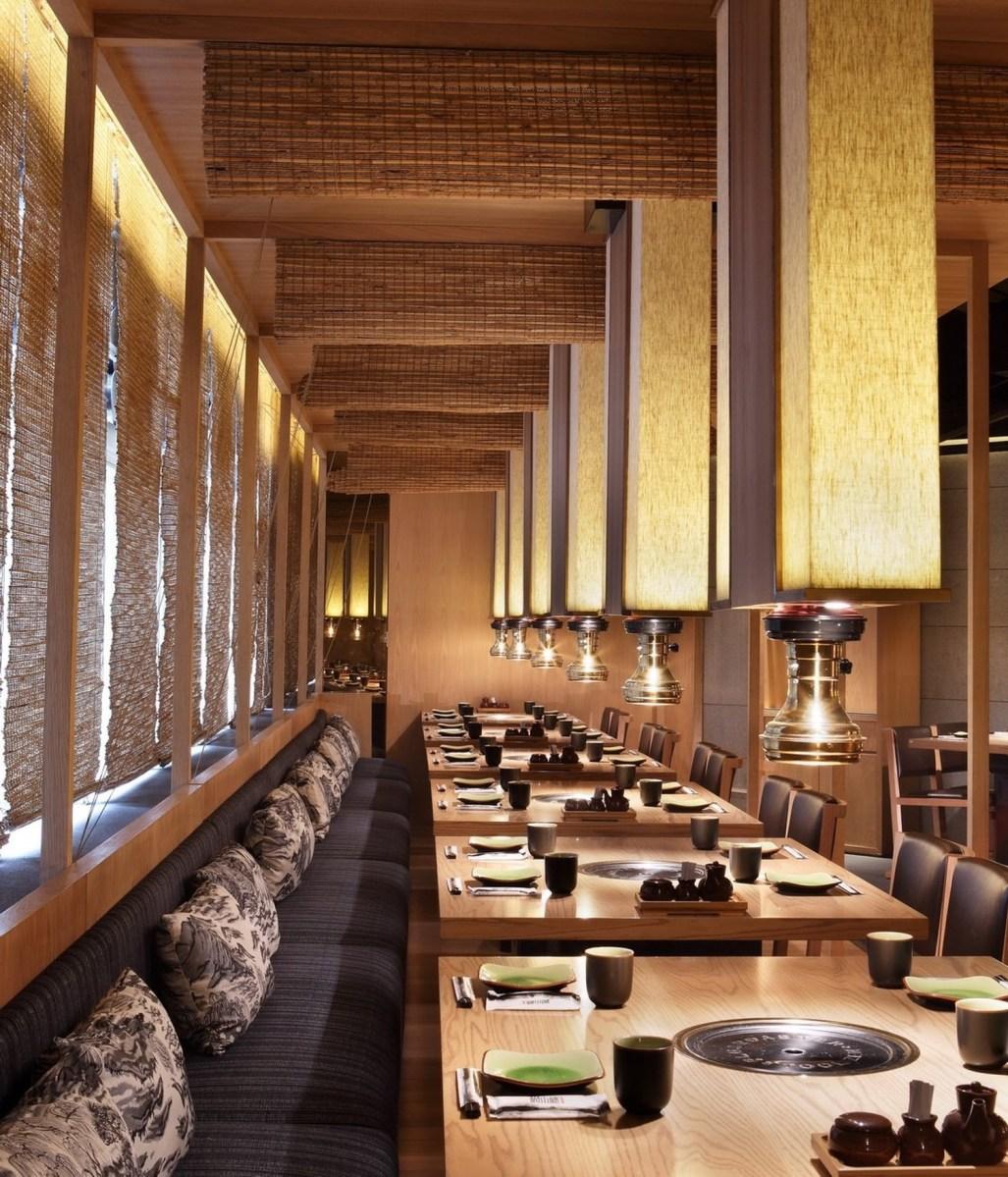 Thiết kế nhà hàng phong cách Nhật Bản mới lạ
