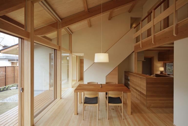 Nội thất tối giản trong thiết kế nhà truyền thống Nhật Bản