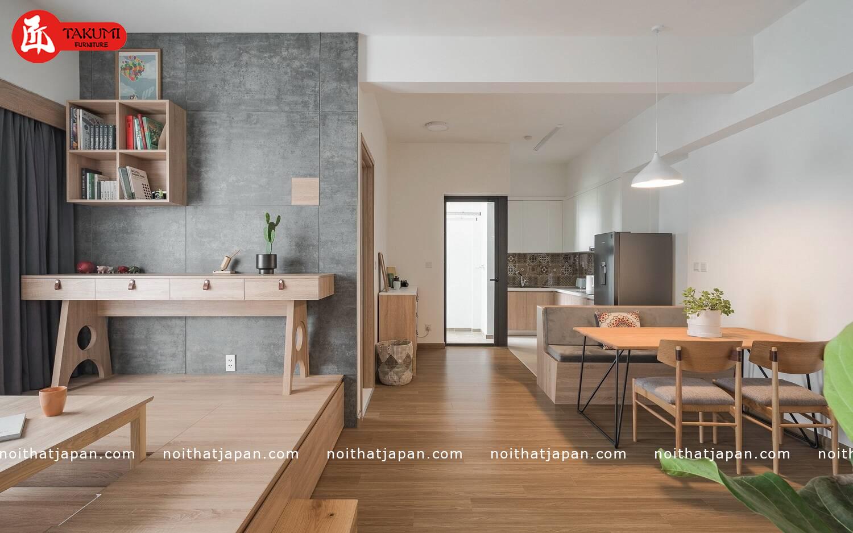 Không gian gần gũi thiên nhiên trong thiết kế nhà kiểu Nhật