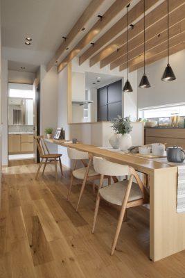 Nội thất chung cư kiểu Nhật phòng bếp