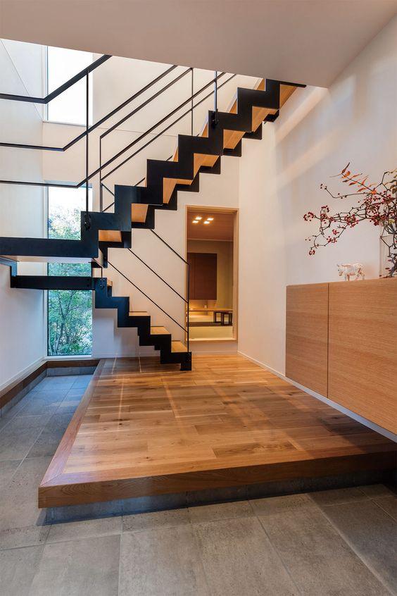 Sàn nâng giúp tăng thẩm mỹ cho ngôi nhà