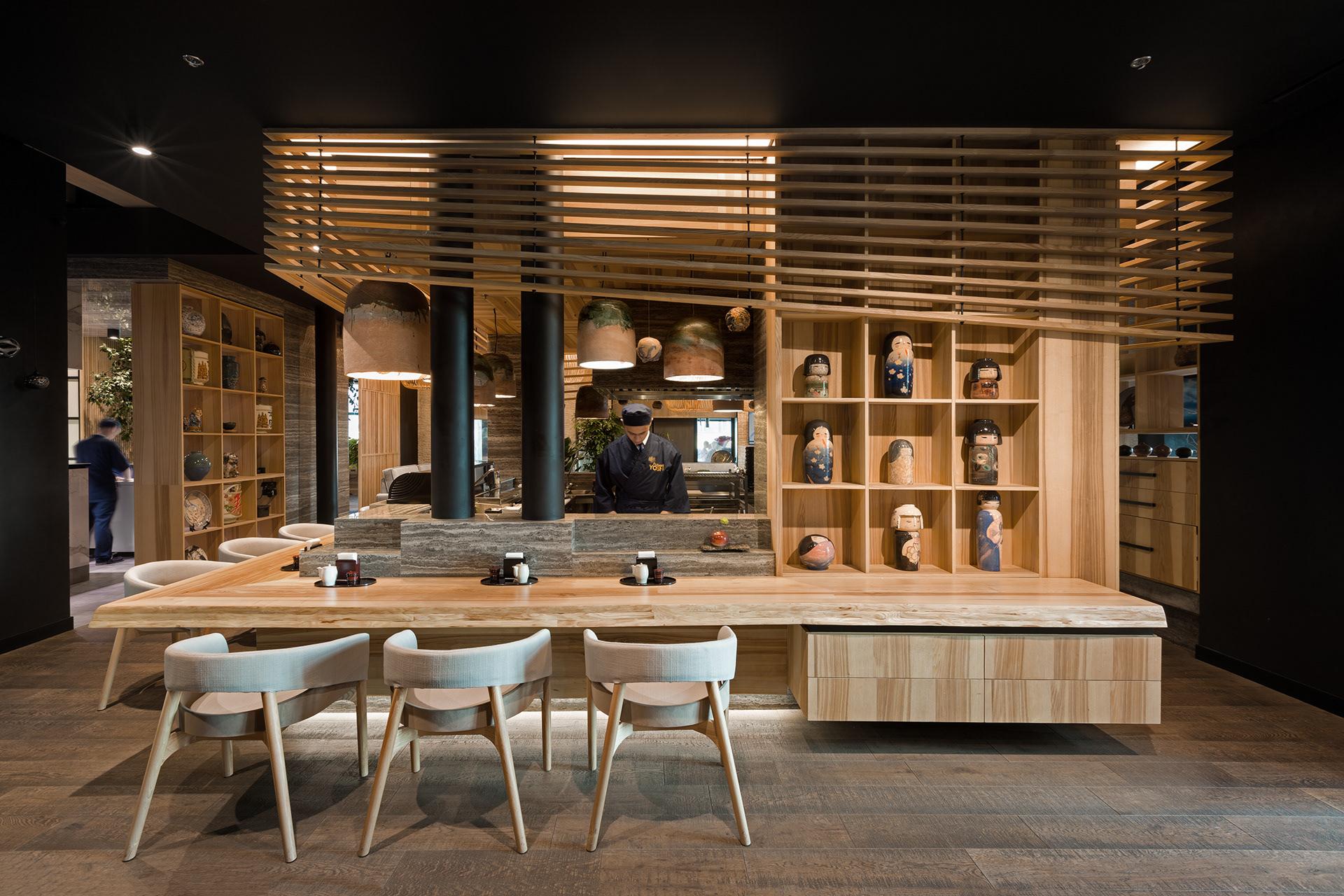 Thiết kế nhà hàng kiểu Nhật sang trọng