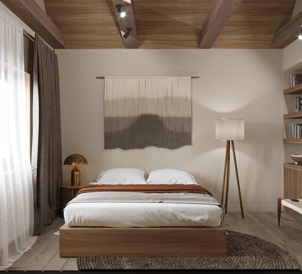 Thiết kế phòng ngủ kiểu Nhật