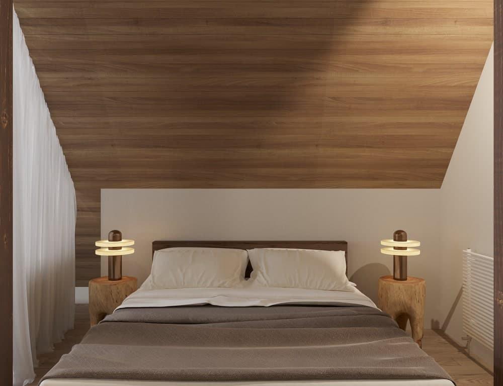 Decor phòng ngủ thiết kế nhà phong cách Nhật