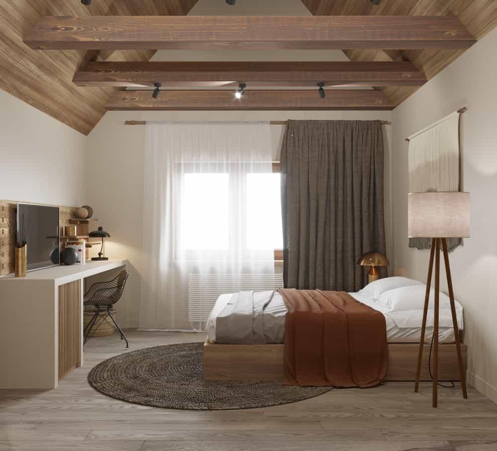 Phòng ngủ nhà phong cách Nhật độc đáo