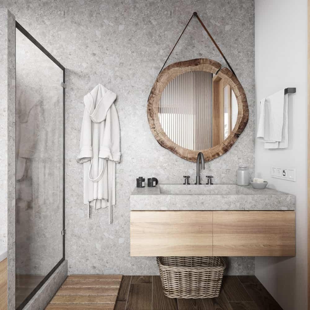 Nội thất nhà tắm kiểu Nhật