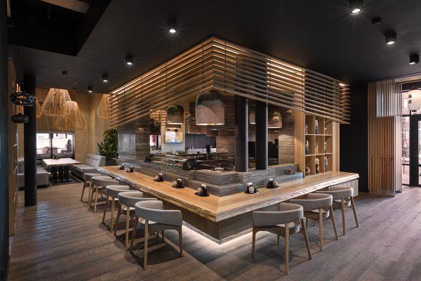 Thiết kế thi công nhà hàng đẹp mắt kiểu Nhật