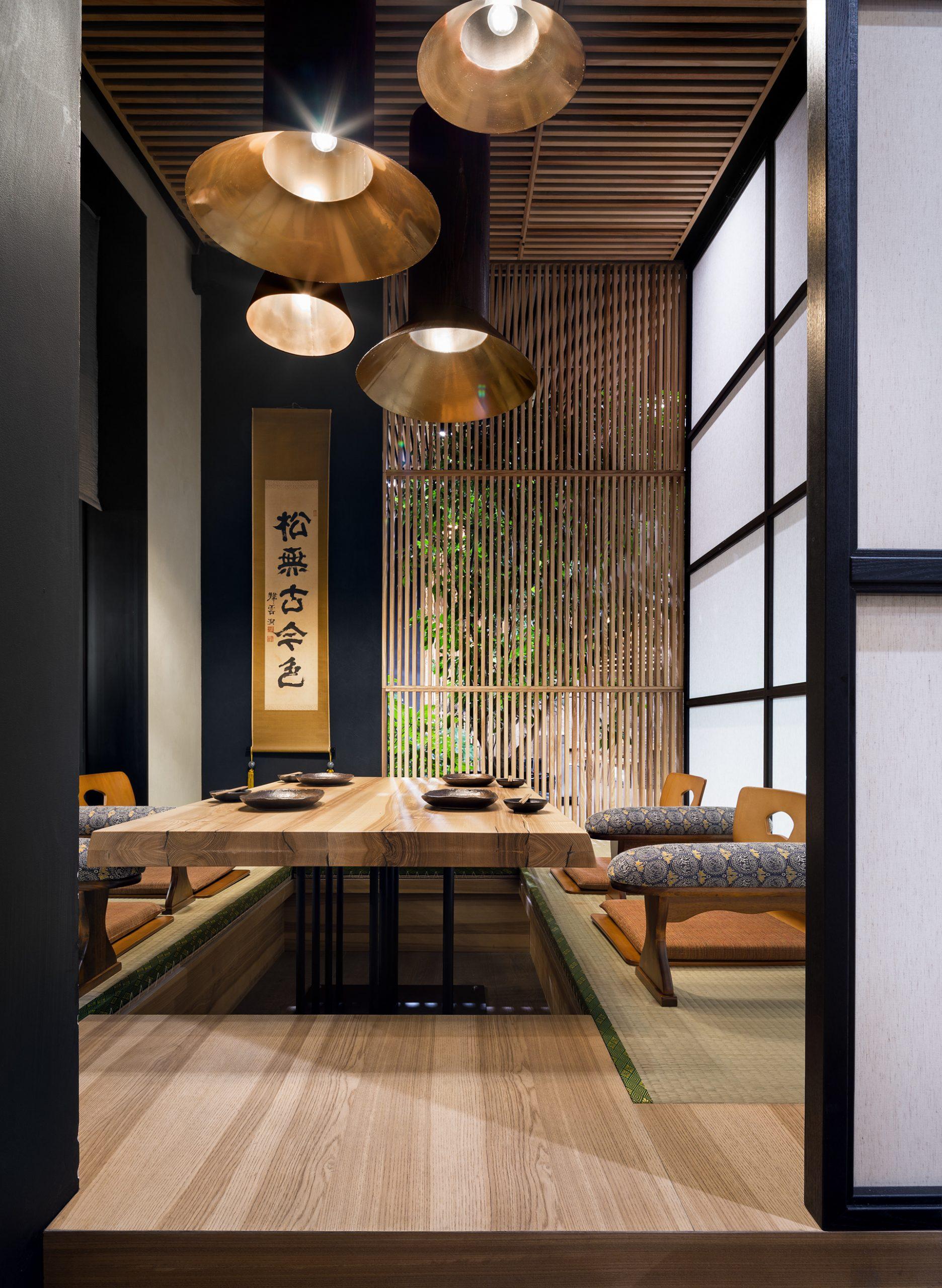 Trang trí nhà hàng Nhật hiện đại