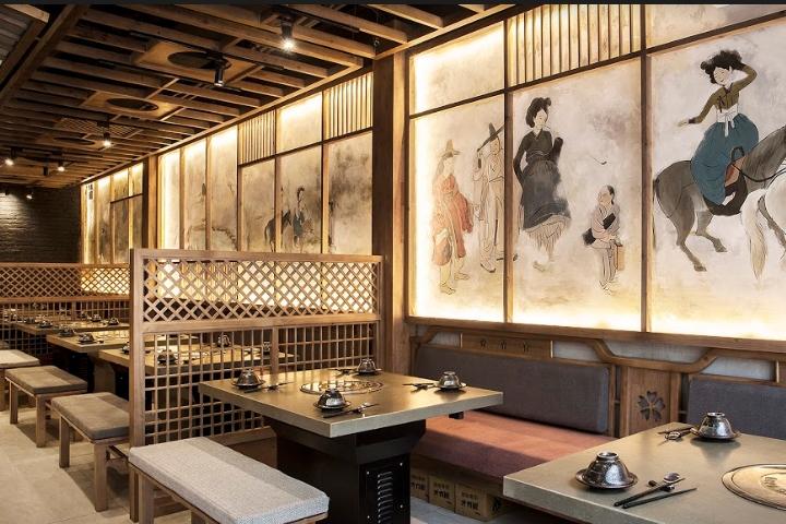 Trang trí nhà hàng Nhật độc lạ