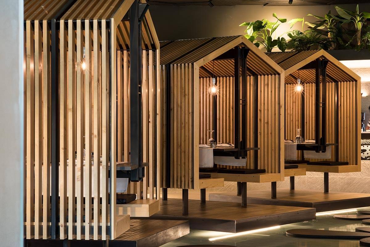 Không gian độc đáo nhà hàng Nhật