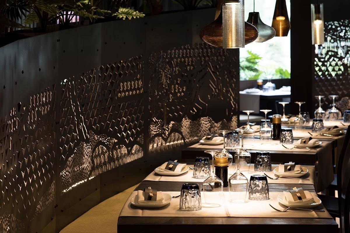 Trang trí nhà hàng Nhật sang trọng