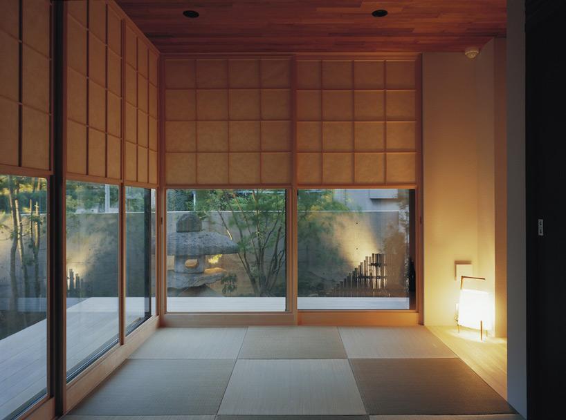 Vách ngăn kiểu Nhật cho biệt thự