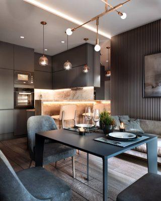 Bố trí nội thất bếp ăn vừa đẹp vừa hợp phong thủy