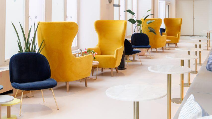 Văn phòng phong cách sang trọng có không gian nghỉ ngơi