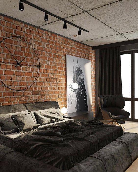 Phòng ngủ phong cách công nghiệp (1)
