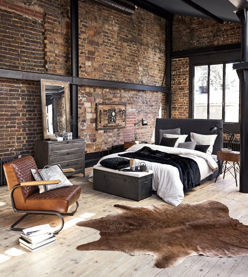 Phòng ngủ phong cách công nghiệp