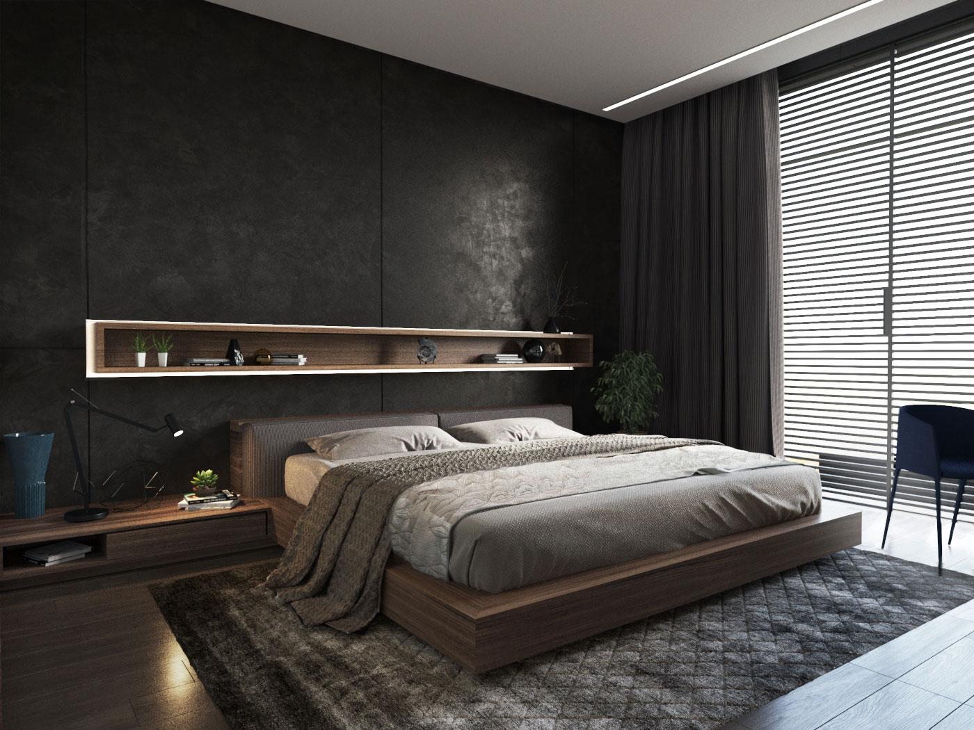 Phòng ngủ phong cách hiện đại (2)