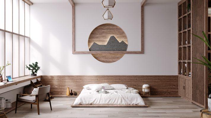 Phòng ngủ phong cách Nhật Bản (1)