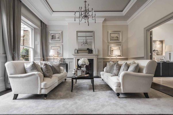 Trang hoàng căn hộ với phong cách nội thất tân cổ điển